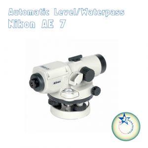 Jual automatic-level/ Waterpass Nikon AE7 COD DKI Jakarta -08192120879