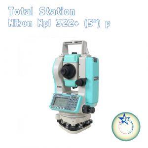 Total Station Nikon NPL 322+ (5*) P