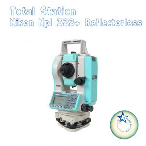 Total Station Nikon NPL 322+ Reflectorless