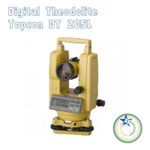 Digital Theodolite Topcon DT 205L