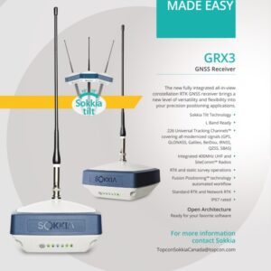 Gps Geodetik Sokkia GRX3 - Gratis Training DKI- Jakarta